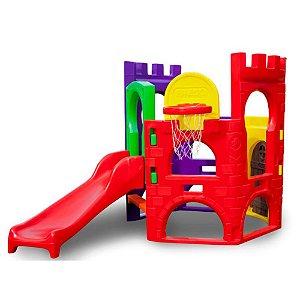Petit Play Festa com Balanço Freso Brinquedos 330 × 560 × 148 cm - Ref. 33337