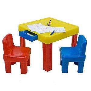 Mesinha (sem cadeiras) Freso Brinquedos 64 × 64 × 50 cm - Ref. 98102