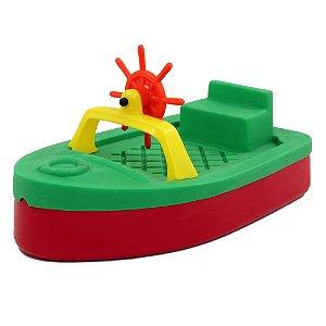 Barquinho Tanque de areia ou piscina com tampa Freso Brinquedos 150 × 87 × 77 cm - Ref. 98106-B