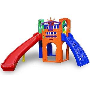 Royal Play com escorregador Freso Brinquedos 265 × 325 × 185 cm - Ref. 23130-C