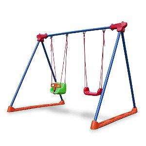 Balanço Infantil Freso Brinquedos 205 × 250 × 200 cm - Ref. 99113