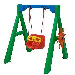 Balanço para Bebê com suporte Freso Brinquedos 113 × 108 × 120 cm - Ref. 98112-A