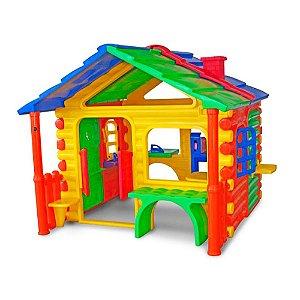 Gran Chalé Freso Brinquedos 300 × 220 × 170 cm - Ref. 34350-A