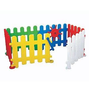 Cercadinho Tradicional com 6 Peças Freso Brinquedos 87 × 87 × 67 cm - Ref. 25158