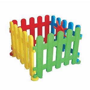 Cercadinho Tradicional com 4 Peças Freso Brinquedos 87 × 87 × 67 cm - Ref. 25157