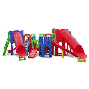 Playground e Casinha Supremo Plus Freso Brinquedos 765 × 660 × 220 cm - Ref. 24142-A
