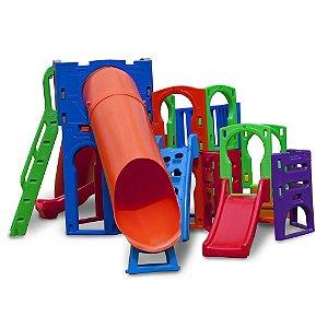 Playground e Casinha Supremo Freso Brinquedos 430 × 550 × 220 cm - Ref. 24133-A