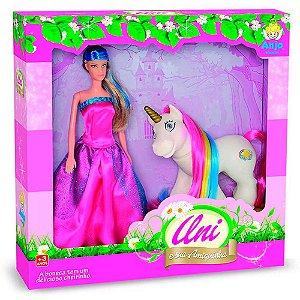 Uni e Sua Amiguinha Anjo Brinquedos - Ref: 2070