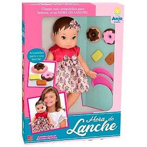 Boneca Hora do Lanche Anjo Brinquedos - Ref: 2067