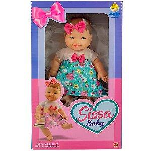 Boneca Sissa Baby com Cheirinho Anjo Brinquedos - Ref: 2066