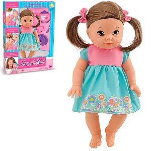 Boneca Hora do Chá Com Cabelo Anjo Brinquedos - Ref: 2023