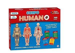 Jogo Corpo Humano Pais E Filhos 180 Cartinhas