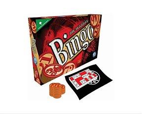 Jogo De Mesa Bingo Com 36 Cartelas E Pedras Em Madeira Pais & Filhos