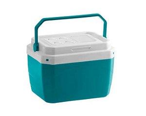 Caixa Térmica de Plástico 40 Litros Paramount verde 50,5 x 37 x 40 cm - Ref. 857