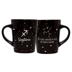 CANECA DECORATIVA CATARINA 270ML - SIGNOS - SAGITARIO