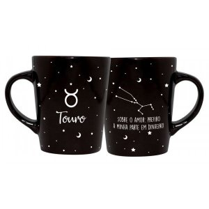 CANECA DECORATIVA CATARINA 270ML - SIGNOS - TOURO
