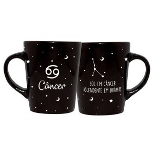 CANECA DECORATIVA CATARINA 270ML - SIGNOS - CANCER