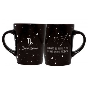 CANECA DECORATIVA CATARINA 270ML - SIGNOS - CAPRICORNIO