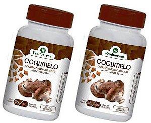 Cogumelo 120 Cápsulas 500 Mg Agaricus Blazei Do Sol Oferta