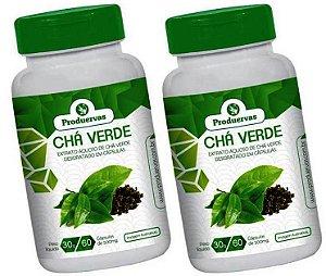 Chá Verde Concentrado 2P Cápsulas Promoção