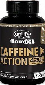 Cafeína Acelerador do Metabolismo 120 capsulas 700 mg Emagrece