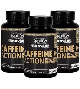 Cafeína Estimulante Natural 360 capsulas 700 mg