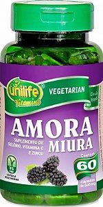 Amora Miura com Vitaminas 120 capsulas 500 mg