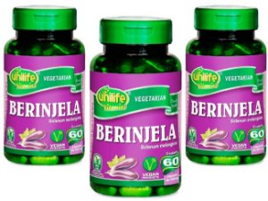 Berinjela Beneficios 180 capsulas 350 mg Para Que Serve