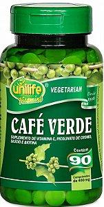 Café Verde Queima Gorduras 90 Comprimidos 400 mg Emagrece