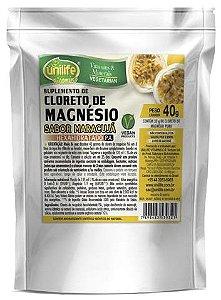 Cloreto de Magnésio P.A. Sabor Maracujá sachê display c/20 unidades