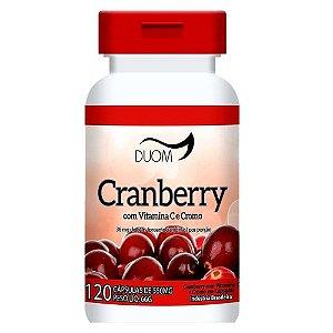 Cranberry Beneficios Emagrece Oxicoco 120 Capsulas 500 mg