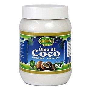 Óleo de Coco Puro Extra Virgem 1 Lt