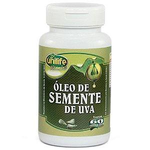 Óleo de Semente de Uva Antioxidante Funciona 60 capsulas 1.2 g