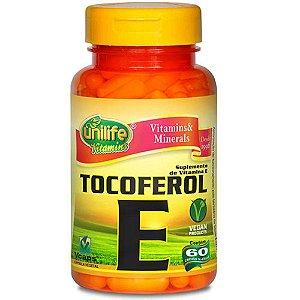 Vitamina E Tocoferol 60 capsulas  470 mg