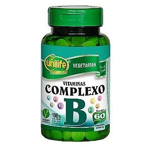 Vitaminas COMPLEXO B (B1, 2, 3, 5, 6, 7, 9 e B12) 60 cpr 500 mg