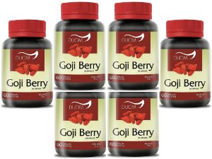 Goji Berry Saciedade Transito Intestinal 360 caps 550 mg