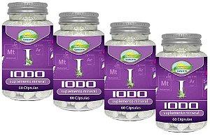 Iodo Inorgânico Lugol Em Cápsulas 240 de 650 Mg Tireoide