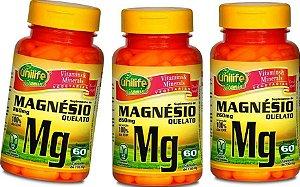 Magnésio Quelato 180 Cápsulas 730 mg Funciona Benefícios