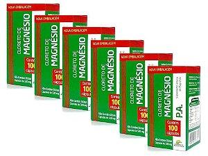 Cloreto de Magnésio PA 600 Capsulas Original Medinal 500 mg