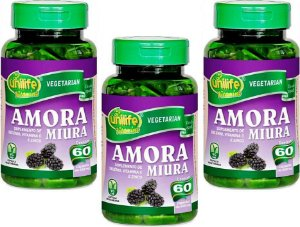 Amora Beneficios com Vitaminas 180 capsulas 500 mg