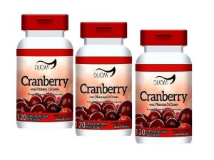 Cranberry Beneficios Antioxidantes Oxicoco 360 Capsulas 500 mg