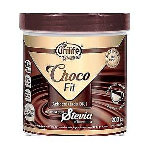 Achocolatado Diet Baixa Caloria 200 g 55 % Cacau Choco Fit