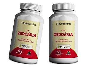 Curcuma Zedoária Curcumina 240 Capsulas 400 Mg Saúde 100%