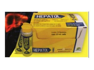 Hepatol Funcionamento do Fígado Tipo Epocler Kit 30 Shots