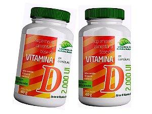 Vitamina D3 2000UI Alto Teor 120 Cápsulas