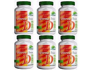 Vitamina D3 2000 UI Alto Teor 360 Cápsulas