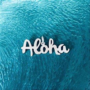 Pingente Aloha - Prata 950