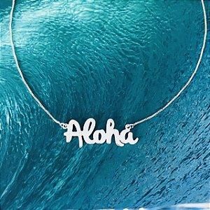 Colar Aloha - Prata 950/925