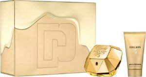 KIT PERFUME LADY MILLION EAU DE PARFUM FEMININO 50ML + BODY LOTION 100ML PACO RABANNE