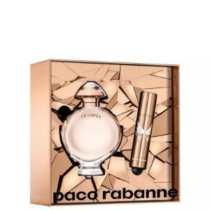 a1f8d306a5 KIT PERFUME OLYMPEA EAU DE PARFUM 50ML + TRAVEL SPRAY 10ML PACO RABANNE